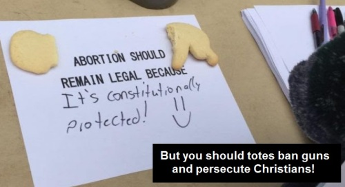 ABORTION constitutional hypocrisy