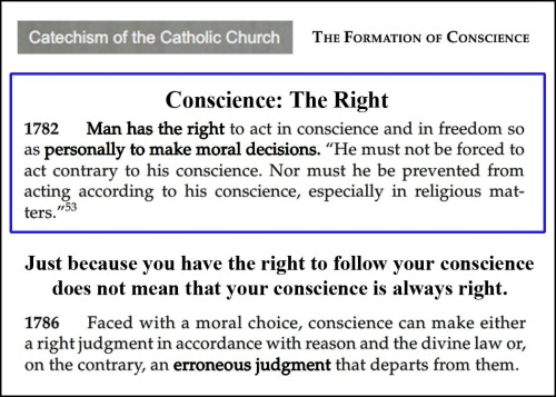 Conscience Right