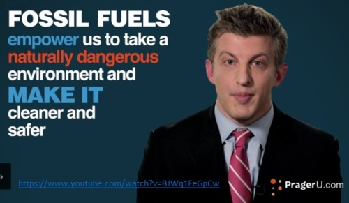Fossil Fuels make clean safe environment
