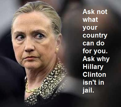 HILLARY ask not
