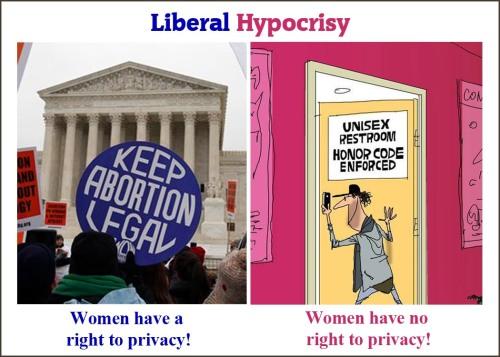 Liberal Hypocrisy privacy