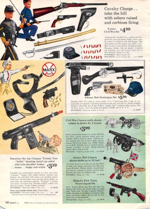 1962-war-toys-guns-cannons