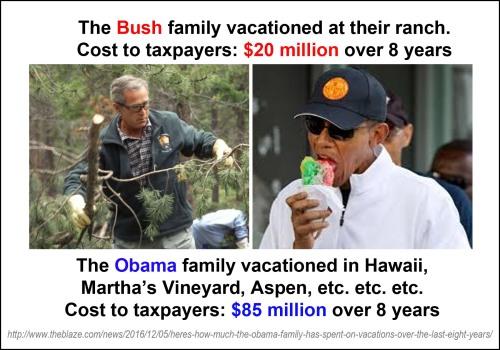 bush-v-obama-vacays