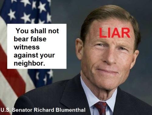 blumenthal-liar