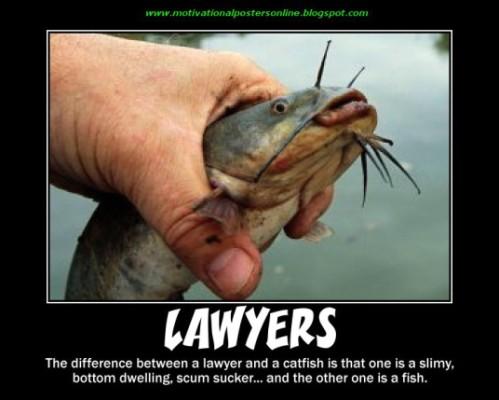 3d7de-lawyersattorneyslegalfeesschoolslawcourtmotivationalpostersonlinecatfishscumsuckerfishfunnyhotjokes