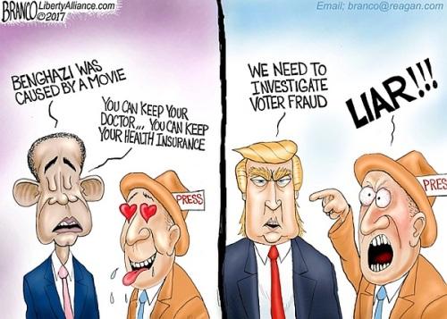 obama-v-trump-media