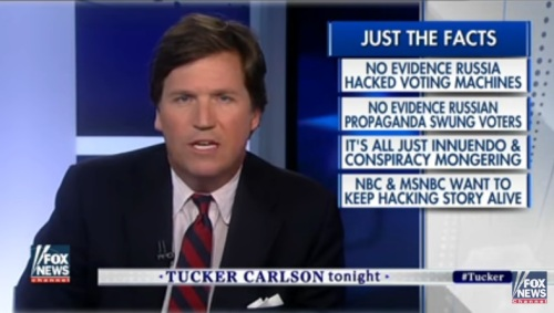 2017_03 14 Tucker Carlson on Russia and NBC
