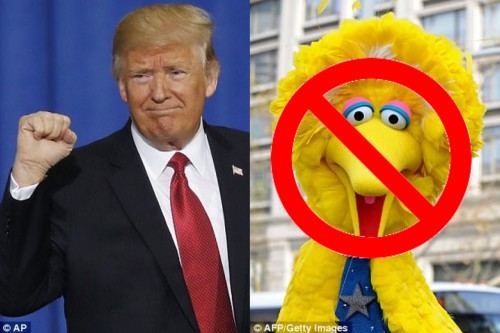 2017_03 18 Trump and Big Bird