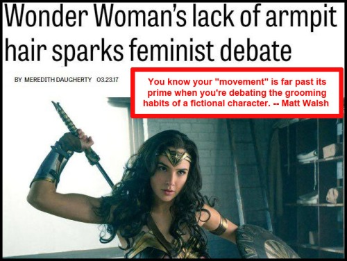 2017_03 23 Wonder Woman's arm pits
