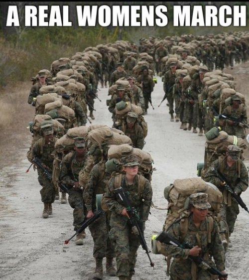 A real women's march