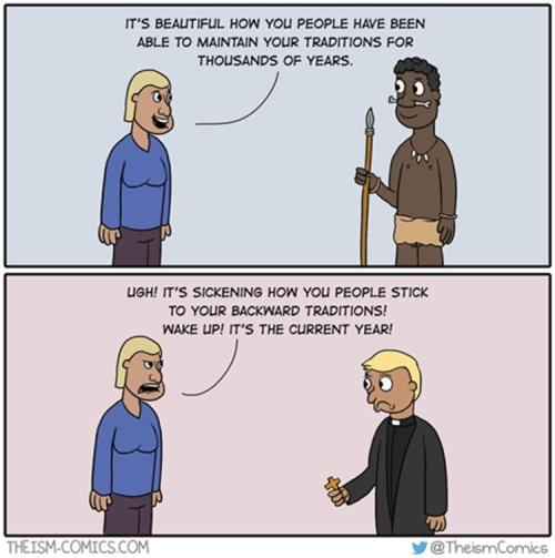 Liberal hypocrisy - religion
