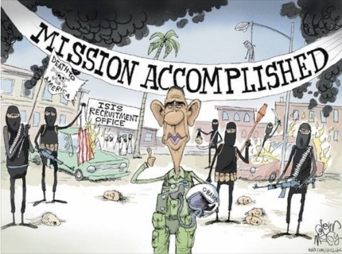 OBAMA ISIS Obama mission accomplished