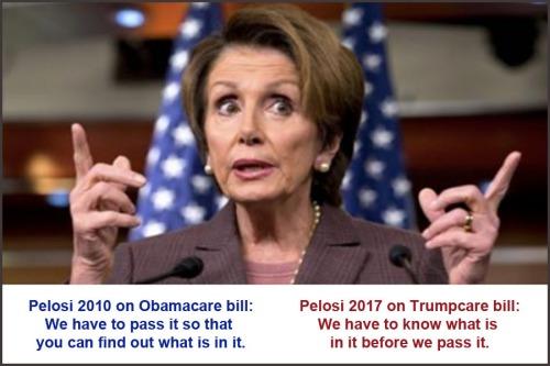 Pelosi 2010 v 2017