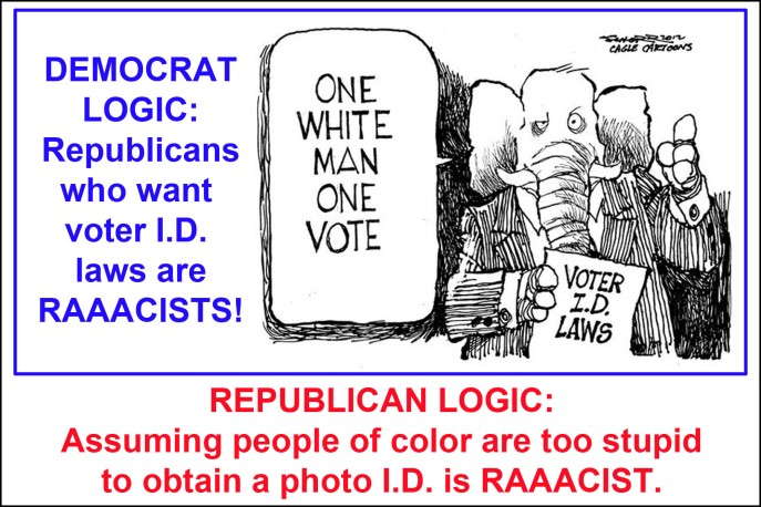 Voter ID R v D logic