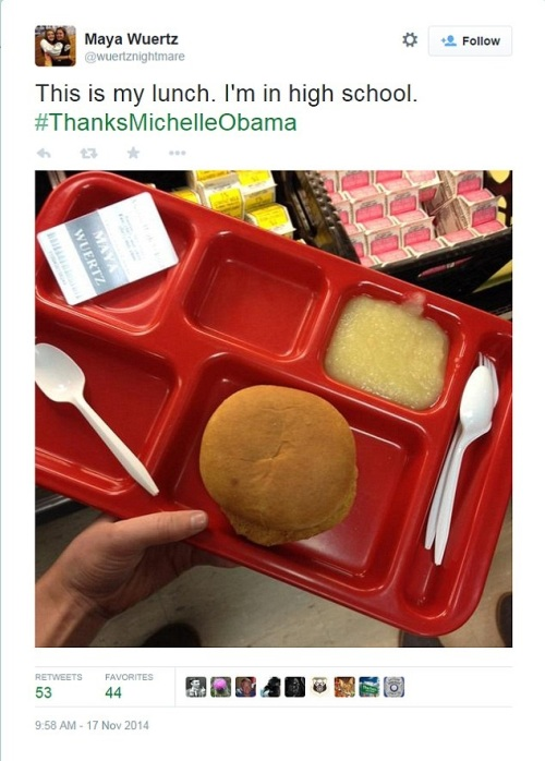 2014_11 17 High school lunch approved by MOOCH
