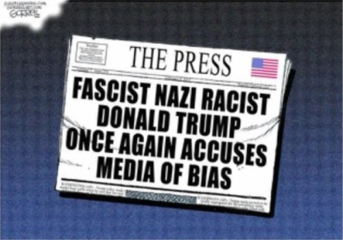 2017_03 Trump accused media of bias