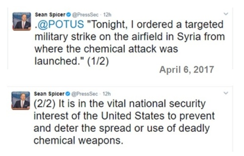 2017_04 06 Trump orders Syria strike