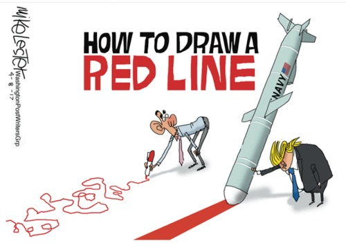 2017_04 08 How to draw a red line