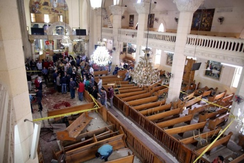2017_04 09 Coptic Church bombed in Egypt