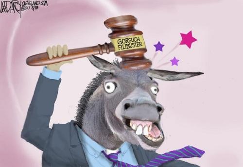 2017_04 Gorsuch filibuster Dem