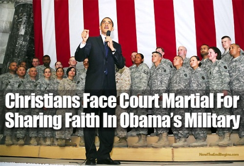 Christians face court martial