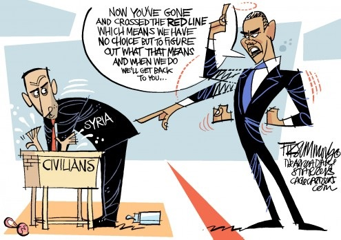 Obama red line Syria
