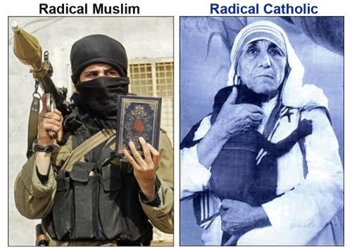 Radical Muslim v Radical Catholic PN