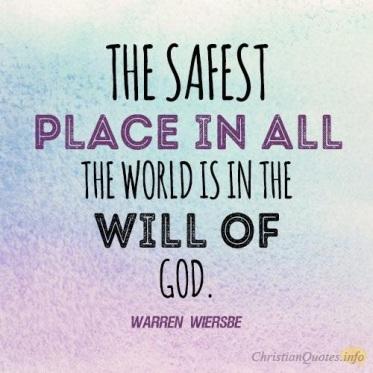 Safest place