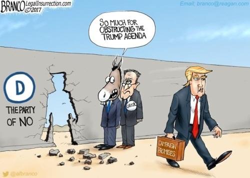 Trump agenda by Branco