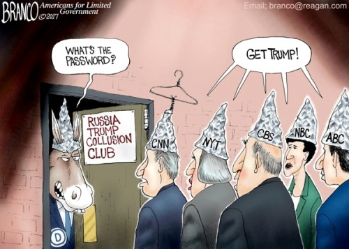 2017 Trump Collusion Club by Branco
