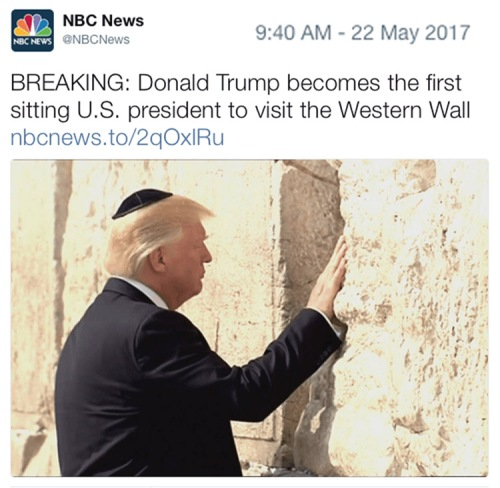 2017_05 22 Trump at Western Wall