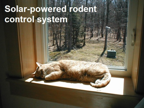 CAT Solar powered rodent control system - from KK