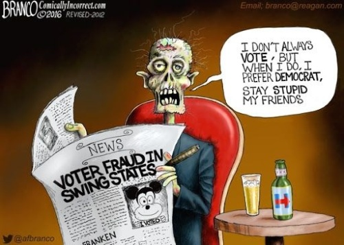 2016 The Dead Vote by Branco