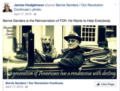 2016_04 17 Hodgkinson pro-Sanders tweet