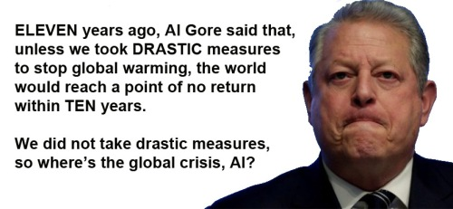 2017 Al Gore's failed prediction