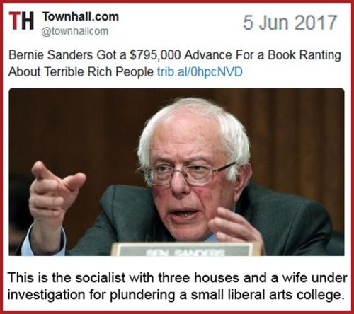 2017_06 05 Bernie Sanders book deal