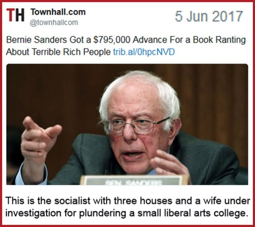 2017_06 05 Bernie Sanders book deal
