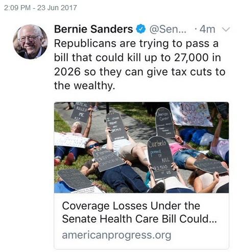 2017_06 23 Sanders tweet