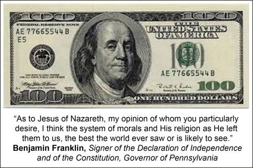 Benjamin Franklin on Christianity