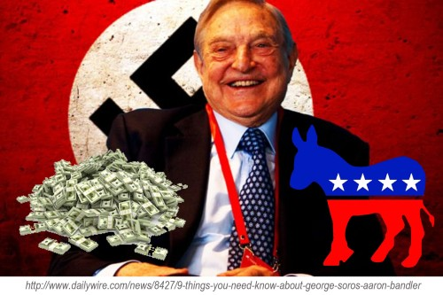 George Soros Nazi Dem Money