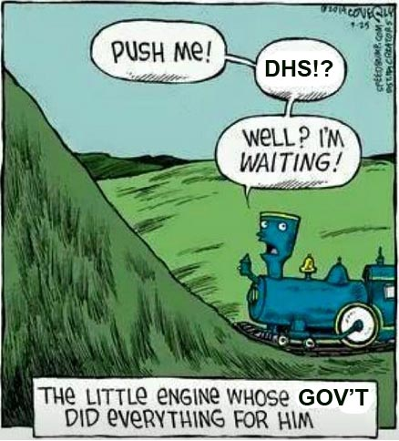 The Little Engine Whose Govt Did Everything For Him