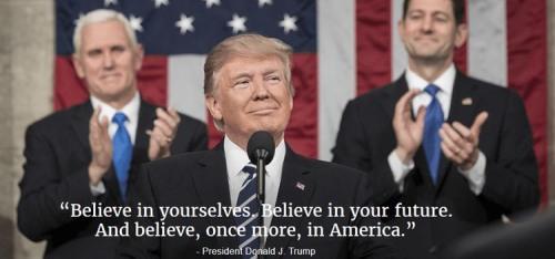 Trump Believe in America