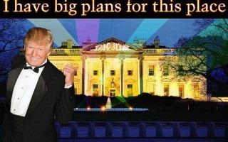 Trump WH big plans