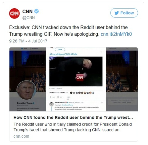 2017_07 04 CNN exclusive tweet