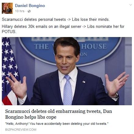 2017_07 23 Scaramucci vs Hillary