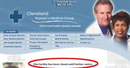 2017_07 Ohio abortuary closed