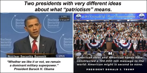 2017_07 Two prez on patriotism