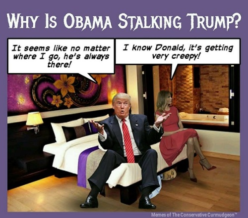 2017_07 Why is O stalking The Donald