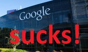 Google sucks