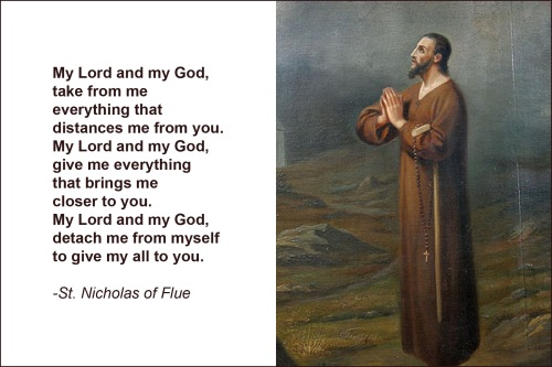 St Nicholas of Flue
